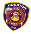 Houston Fire Dept Decal