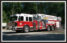Fire Truck Graphics Package - District of North Vancouver Tower 1