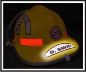 Helmet Individual Name Tag (NG-1006F)