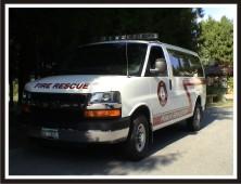 Fire Prevention Van Graphics