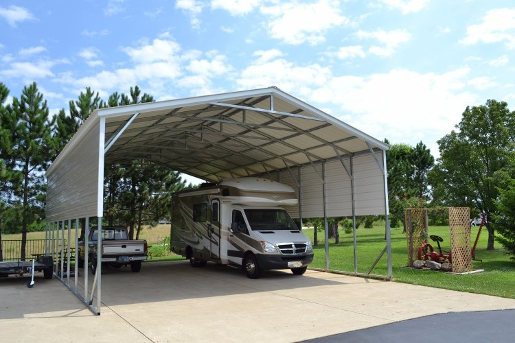 Indiana Triple Wide Carports