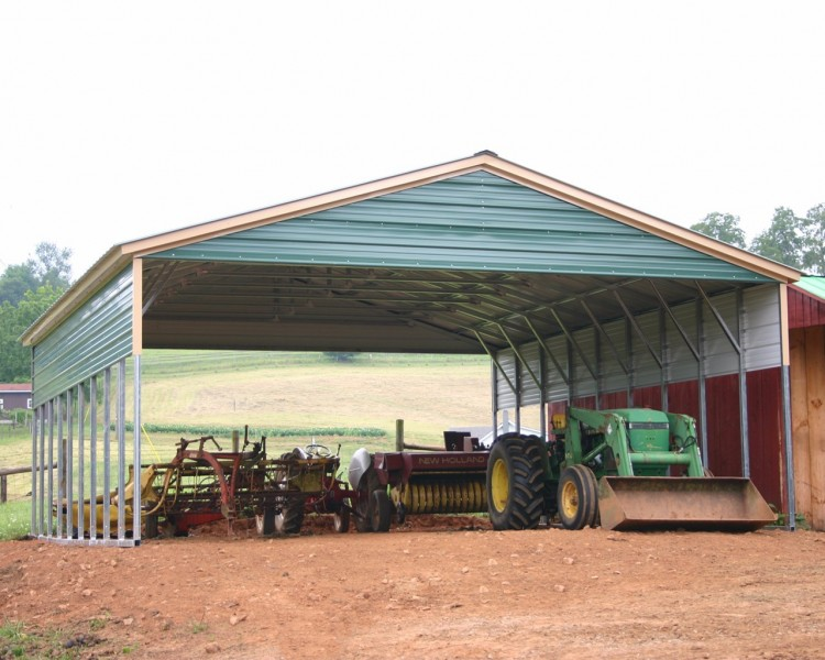 Missouri Triple Wide Carports