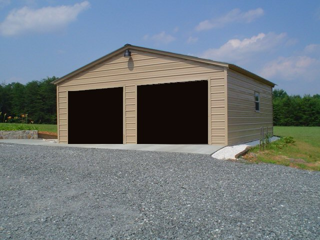 Metal Garages And Steel Buildings Sizes And Colors