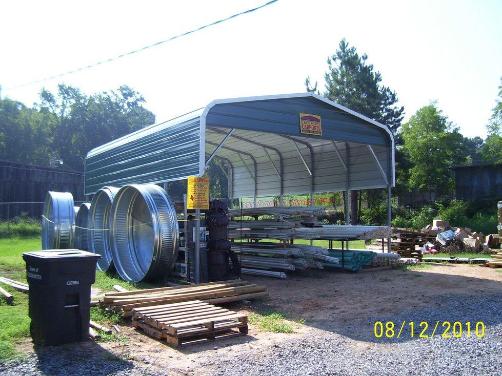 Metal RV Ports