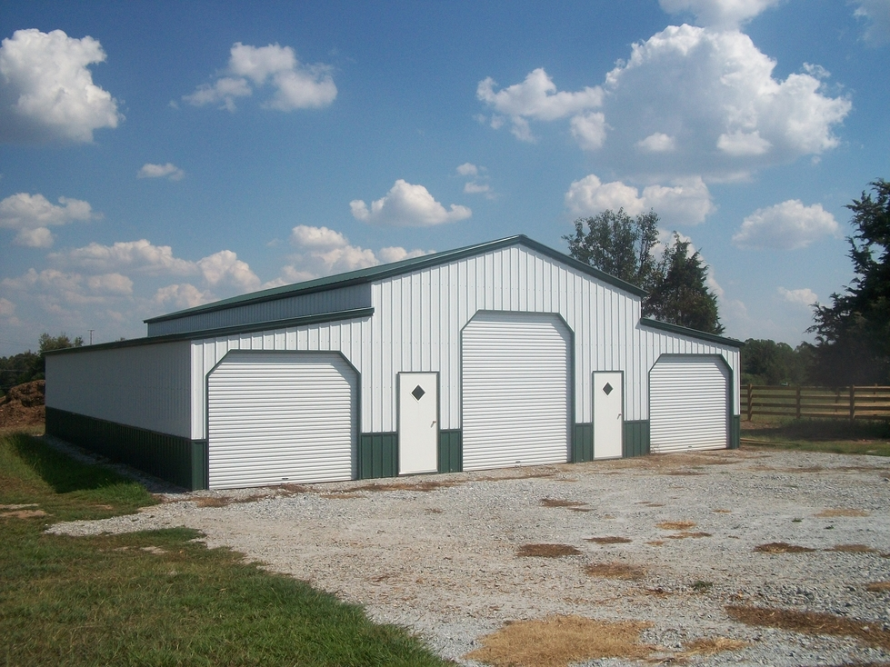 North carolina nc metal garages barns sheds and buildings for Barns and garages