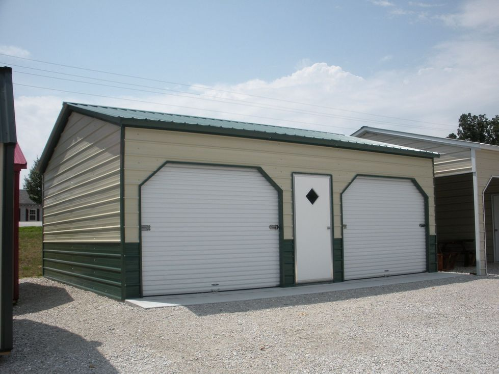North carolina nc metal garages barns sheds and buildings for Carports and garages