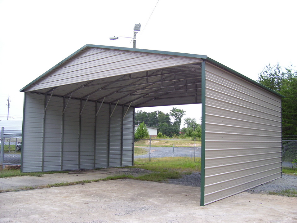 Three Car Carports