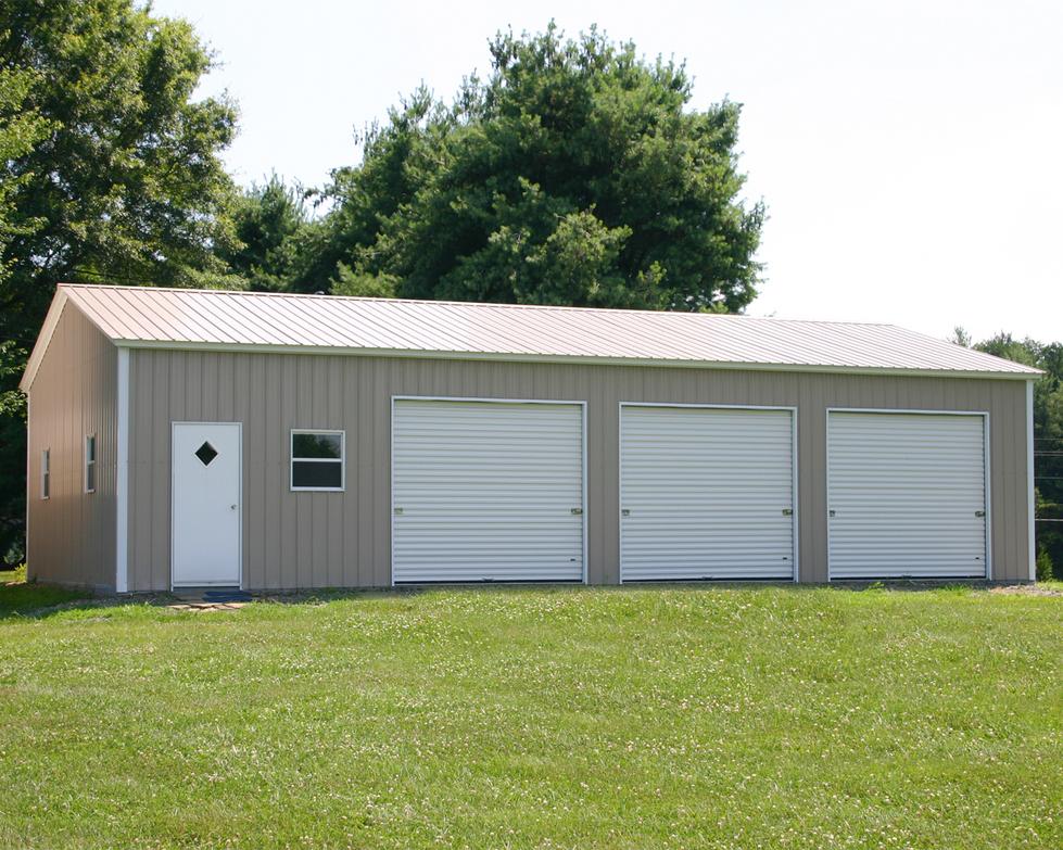 Triple Garages