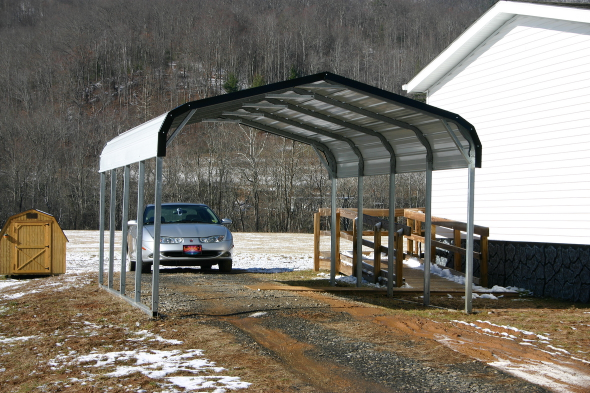 One Car Carports