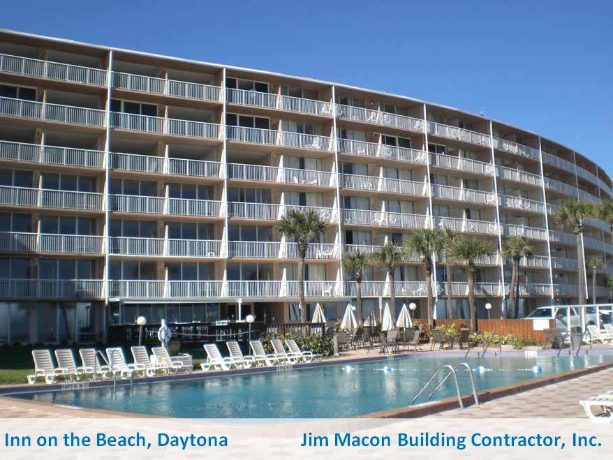 Inn on the Beach, Daytona Beach - Jim Macon with text