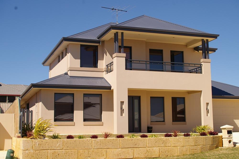 2 storey window cleaning perth for Double storey home designs perth