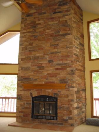 Stone and Brick Fireplaces | Kansas City | Brotherton Masonry Inc.