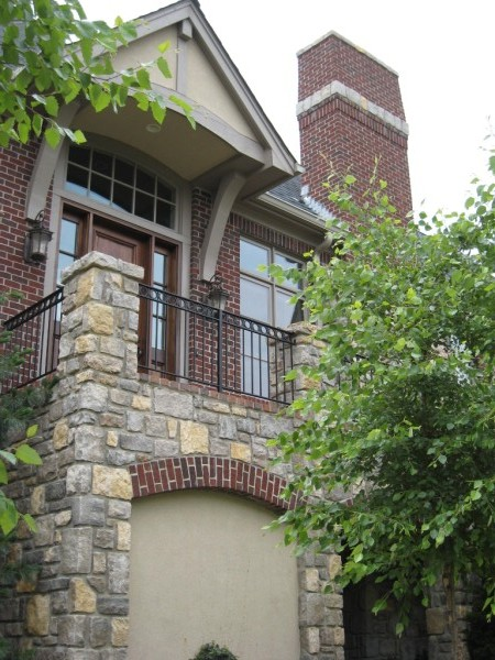 brick and stone home | Kansas City | Brotherton Masonry