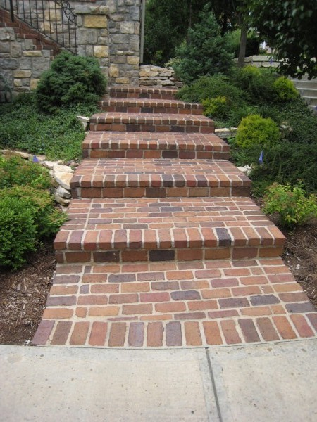 sidewalks steps masonry kansas city samples