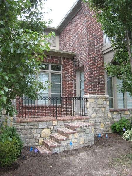 KC Brick | Stone Masonry Steps | Veneer