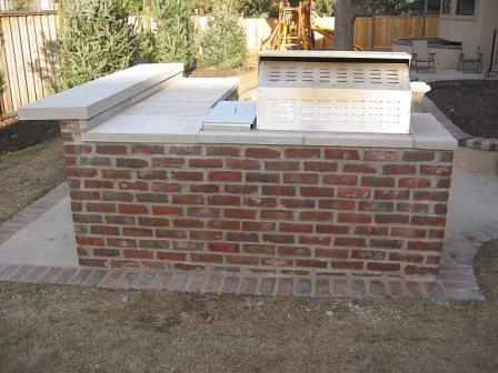 Stone and Brick Grills and Kitchens | Kansas City | Brotherton Masonry