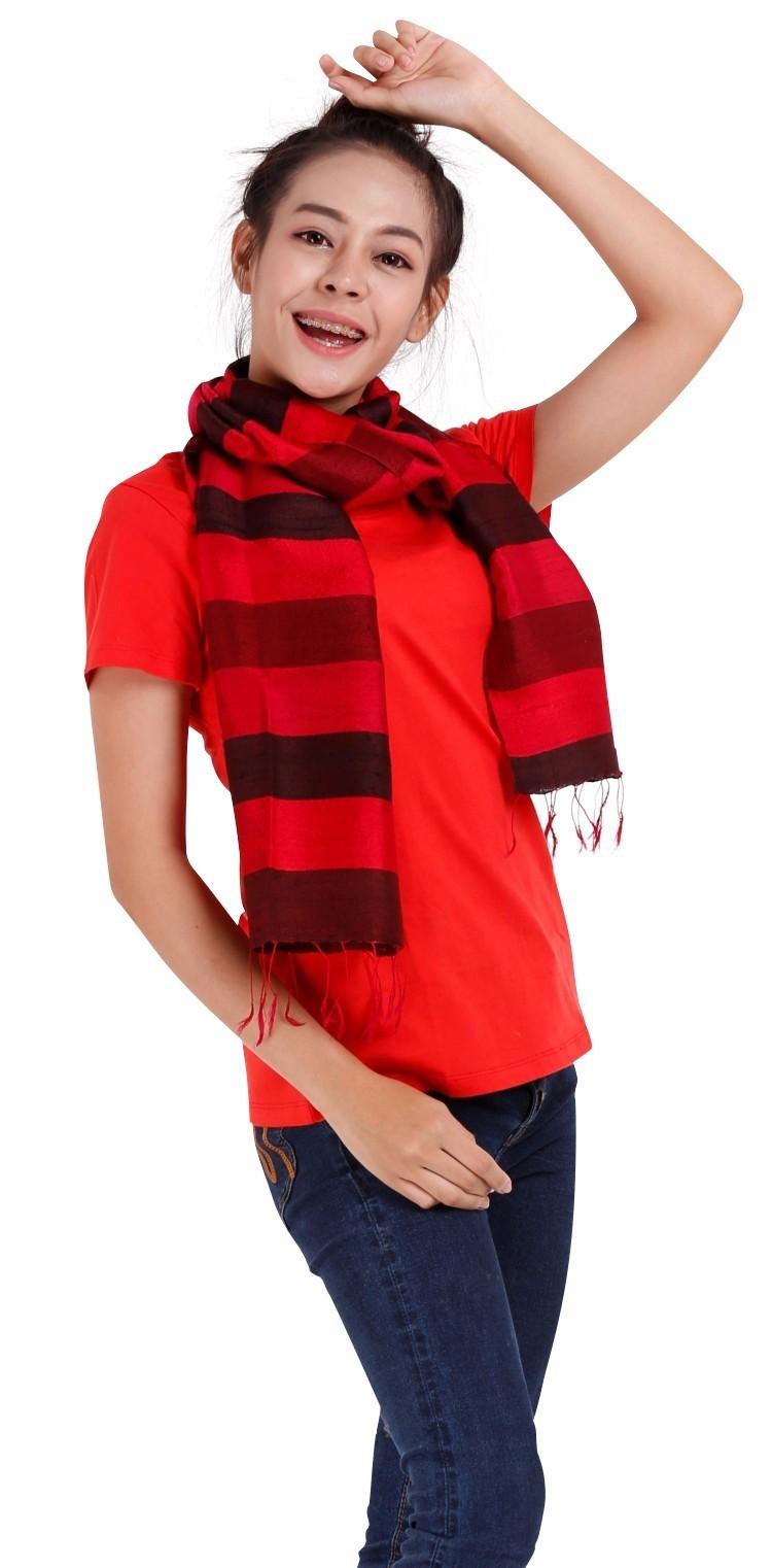 thai silk scarves