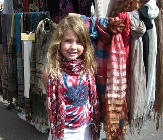 girl with a scarfs