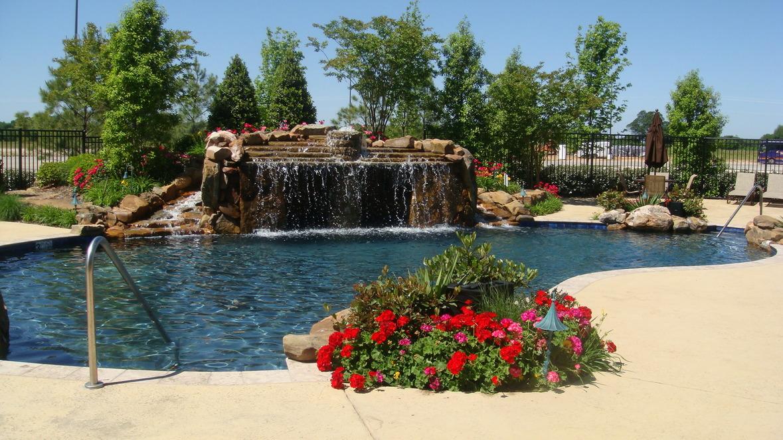 Pool area at Choctaw Casino at Grant