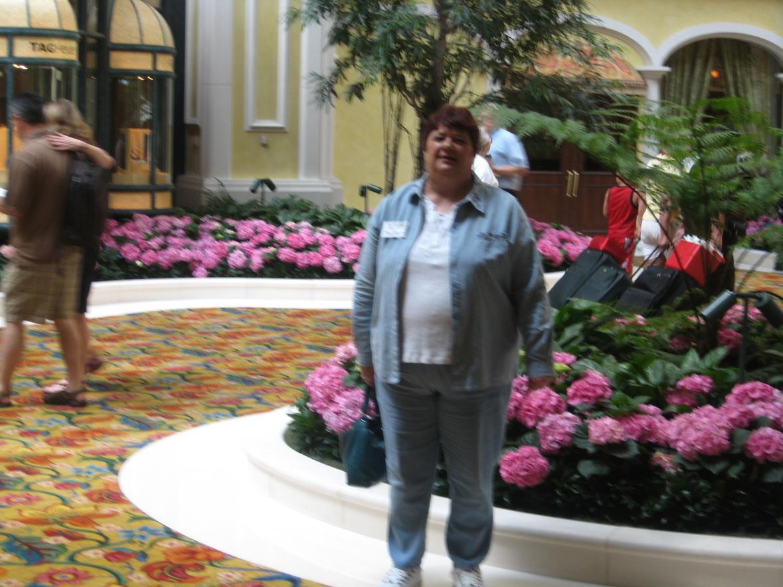 Sherry Davis in the lobby of Beau Riv in Biloxi