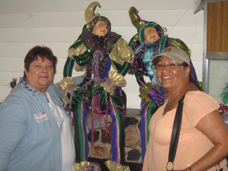 Sherry and Karen at Josette's in Biloxi