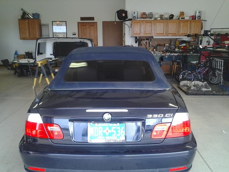 Convertable BMW