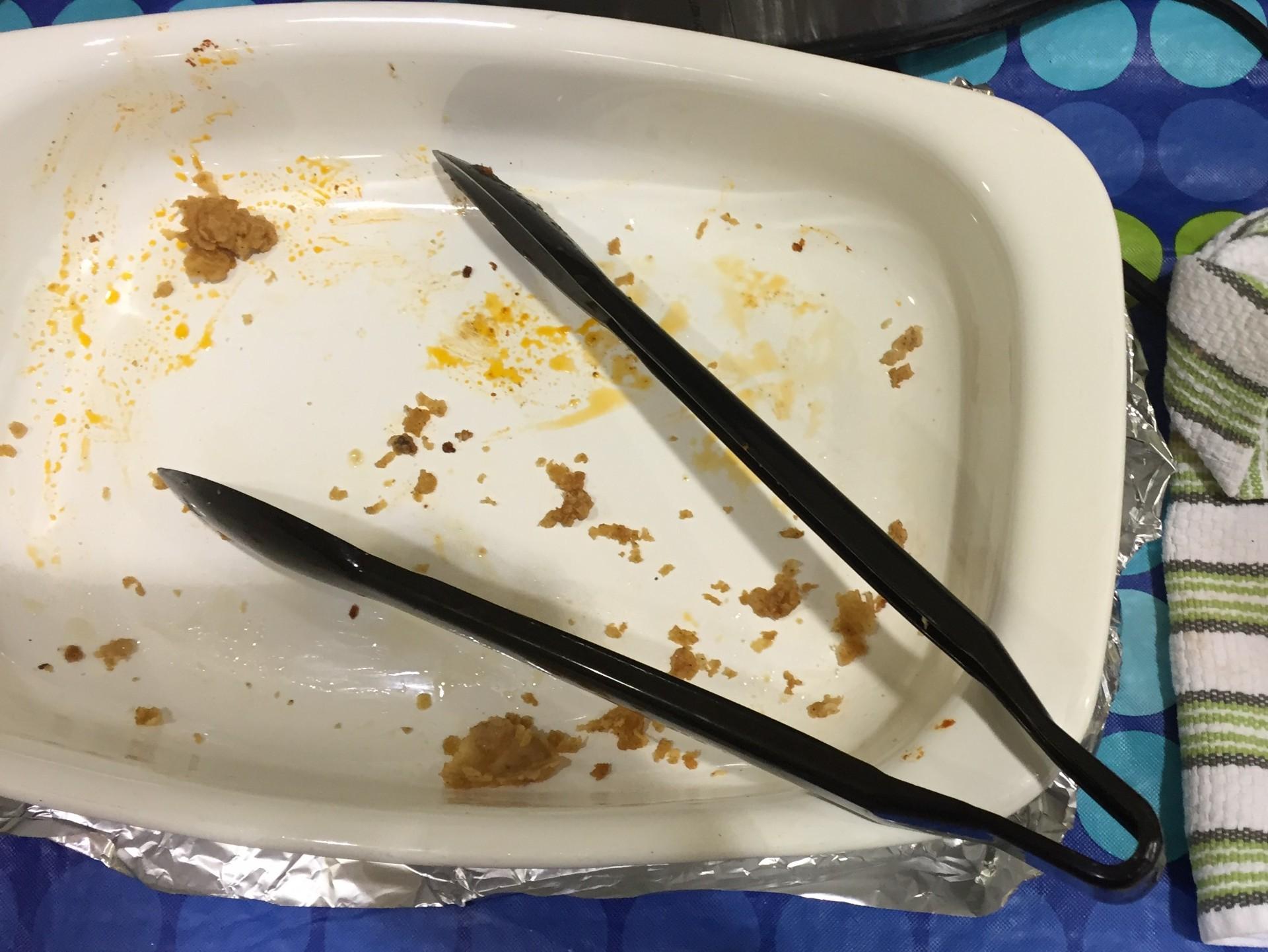 Empty dish 3