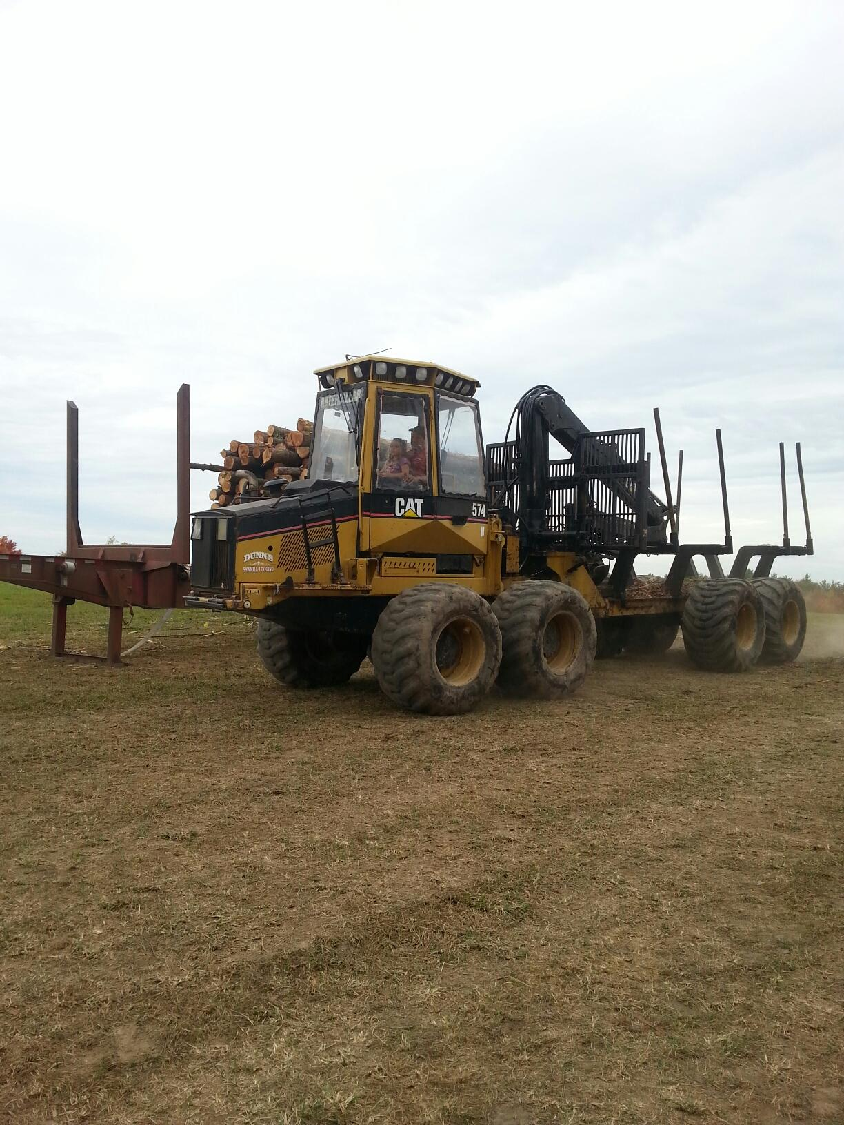 Braya running Forwarder with Uncle Joel