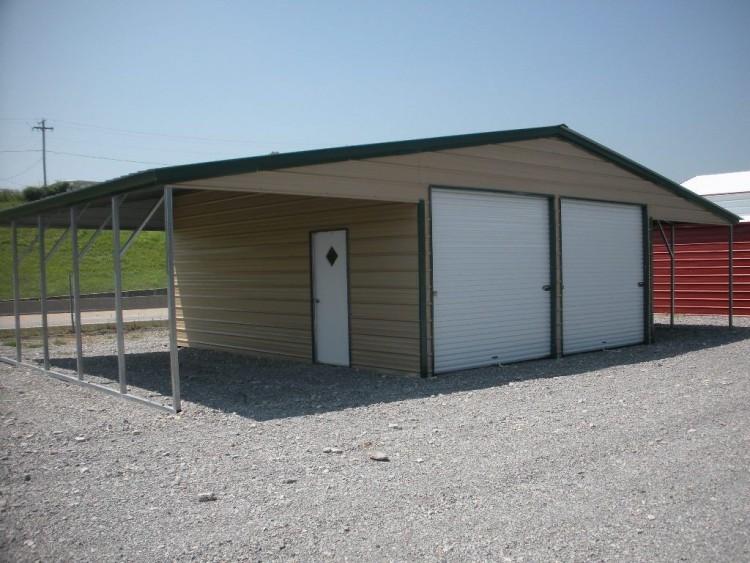 Carports metal carports connecticut ct steel garages for 18x7 garage door prices