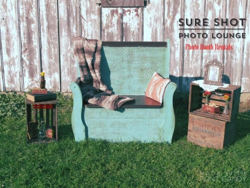 Rustic Photo Booth, rustic wedding