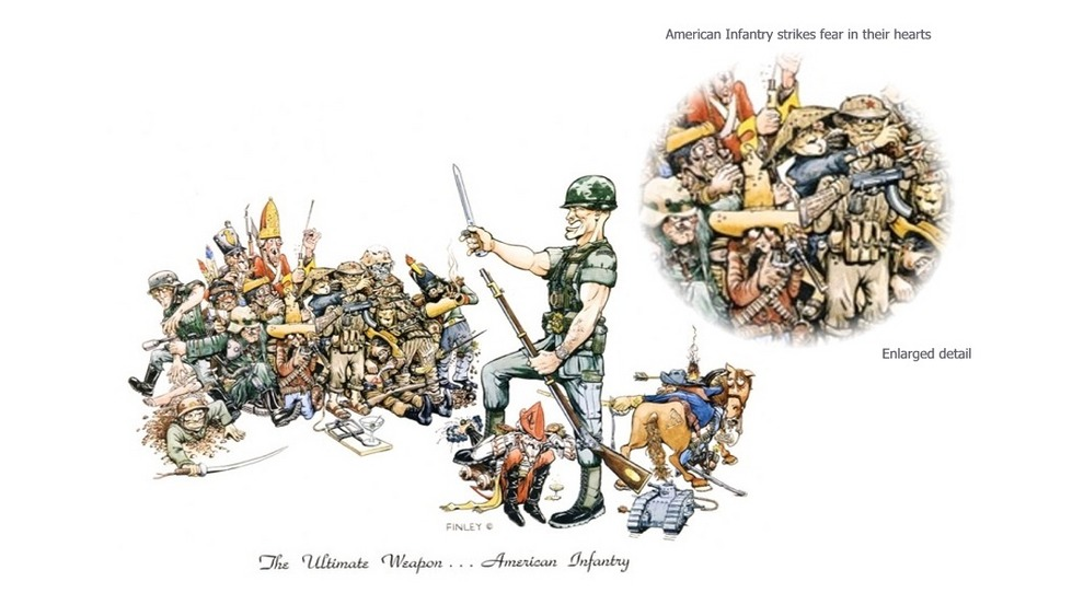 Image result for us infantry prints