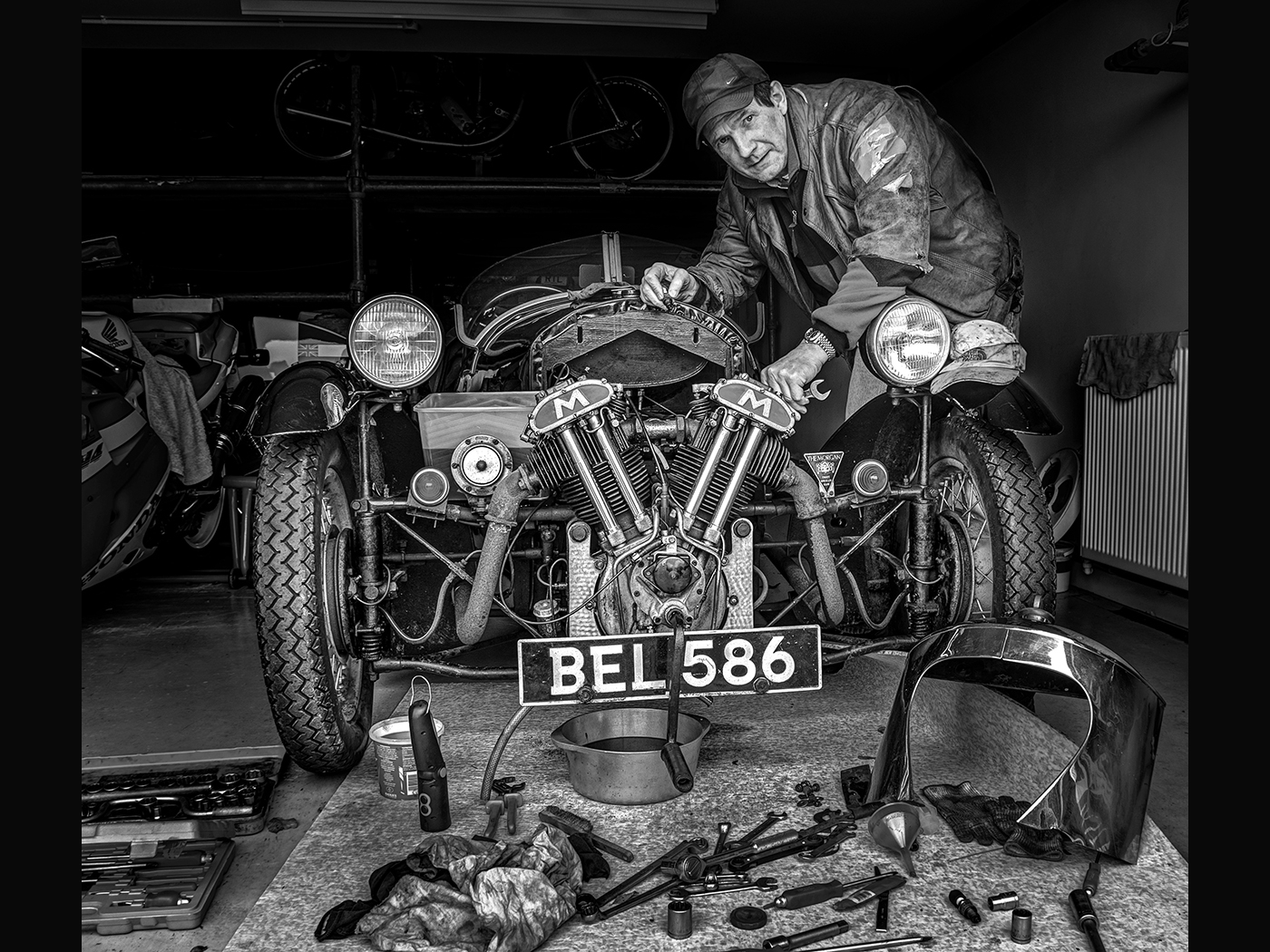 Morgan 3 Wheeler - Repairs