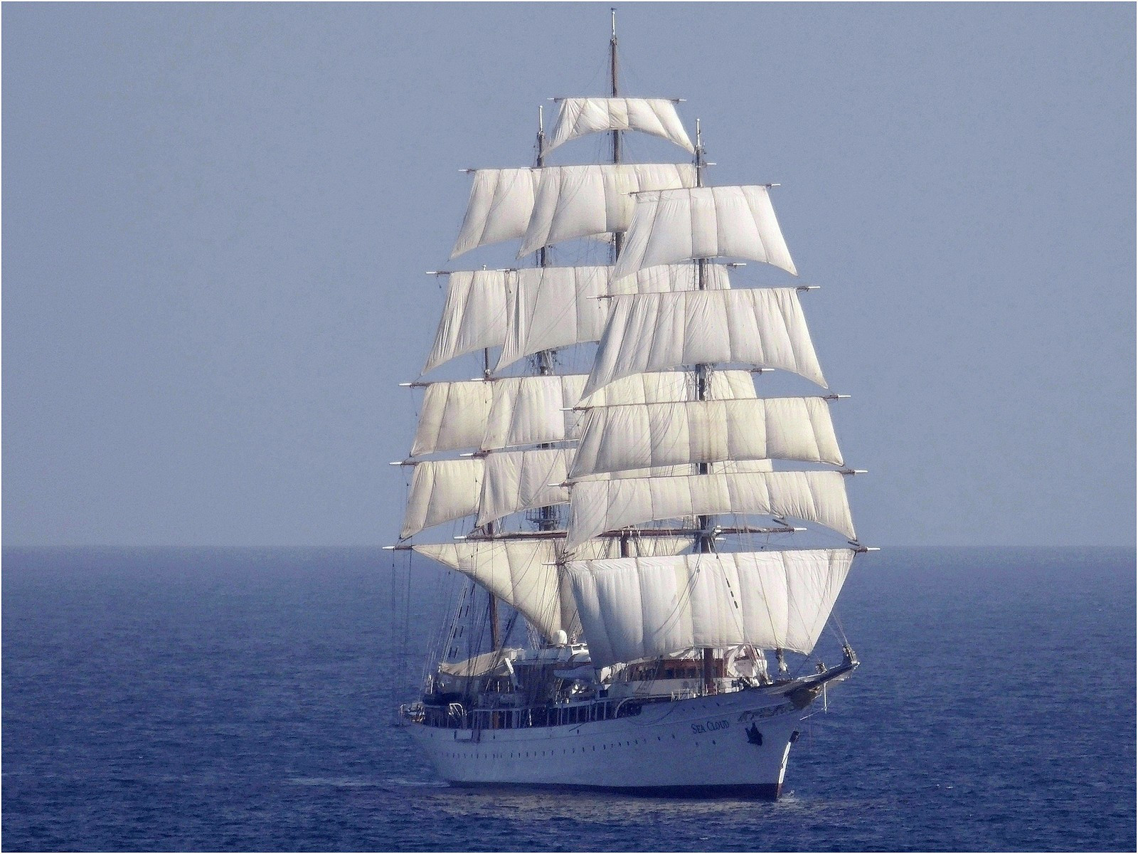 Sea Cloud under sail