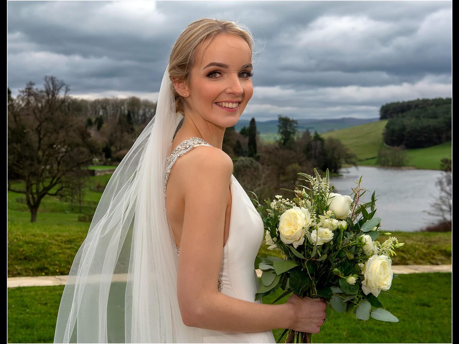 Alex on her Wedding Day