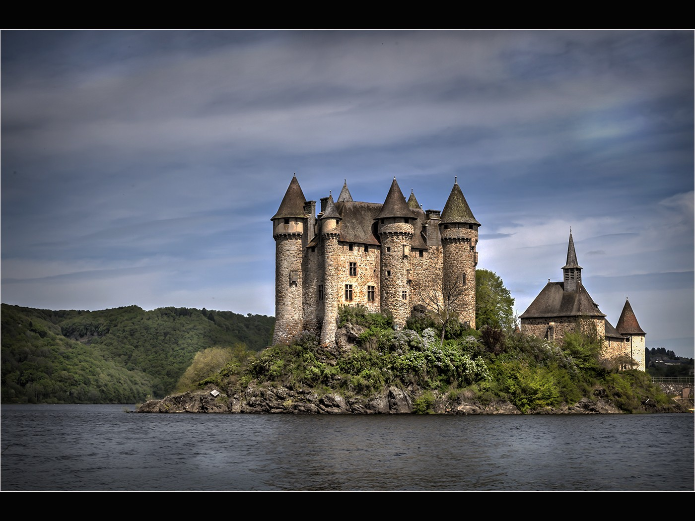 Chateau De Val, Auvergne, France