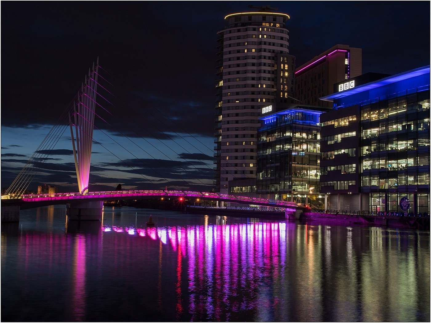 Sunset - Salford Quays