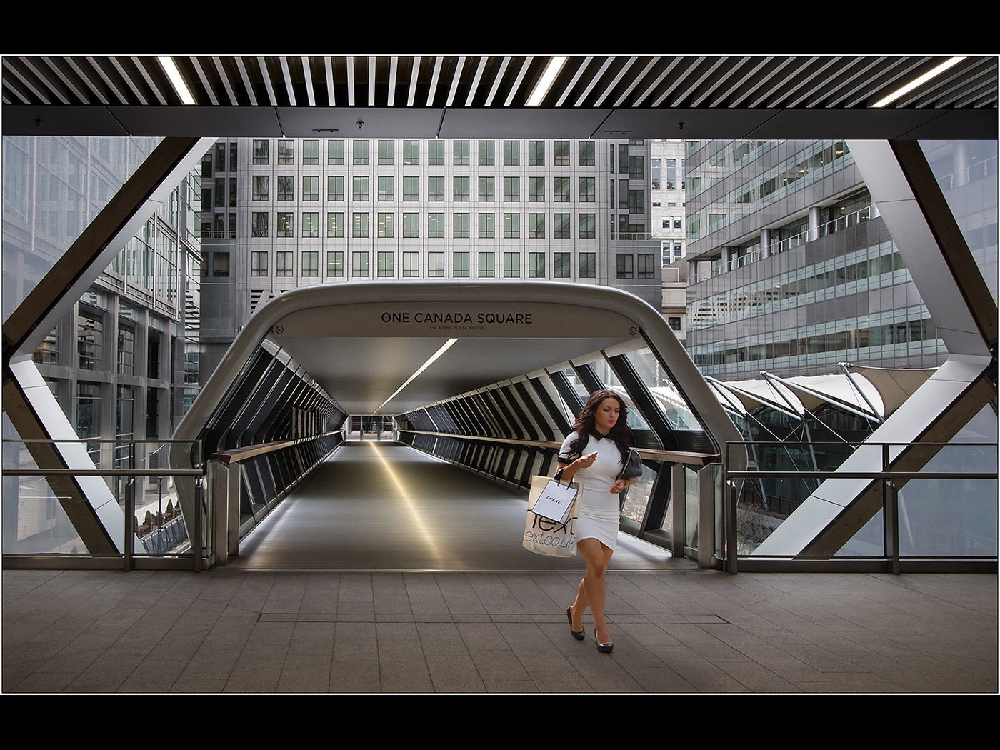 Canary Wharf - Entrance to Crossrail