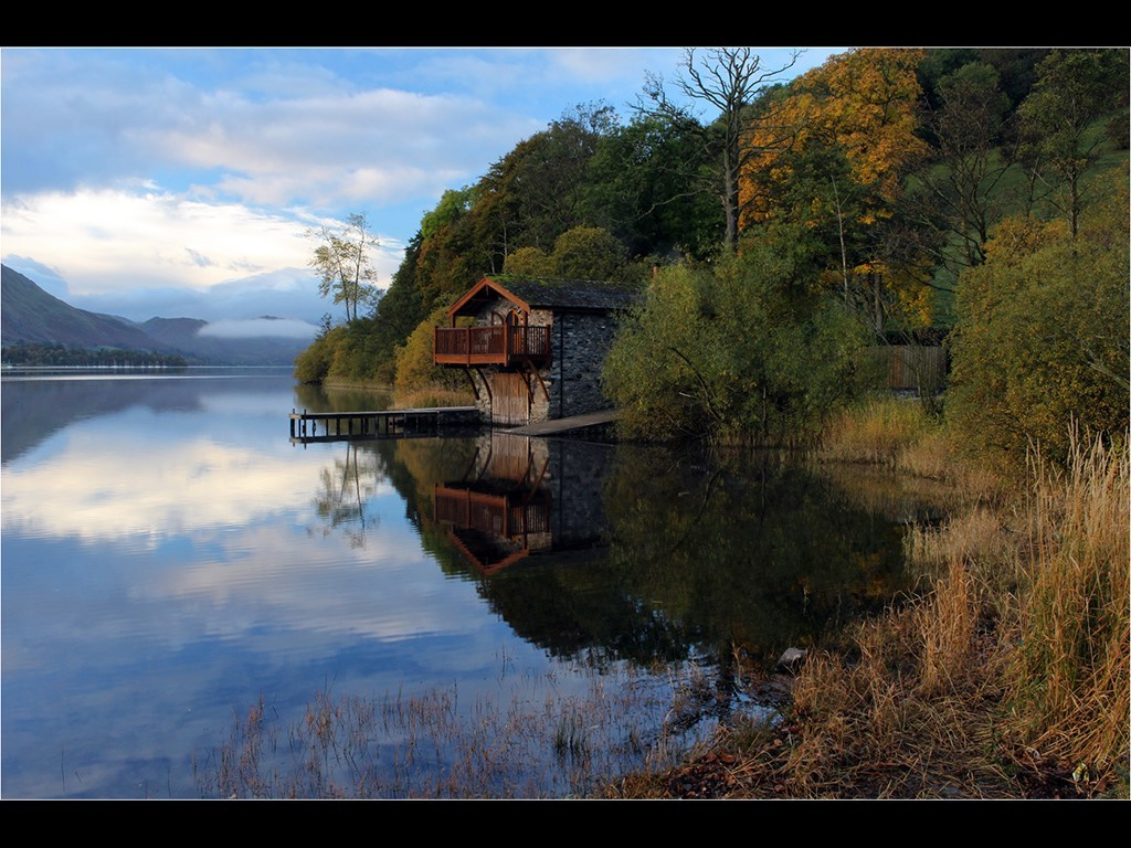 Boathouse at Pooley Bridge  Ullswater