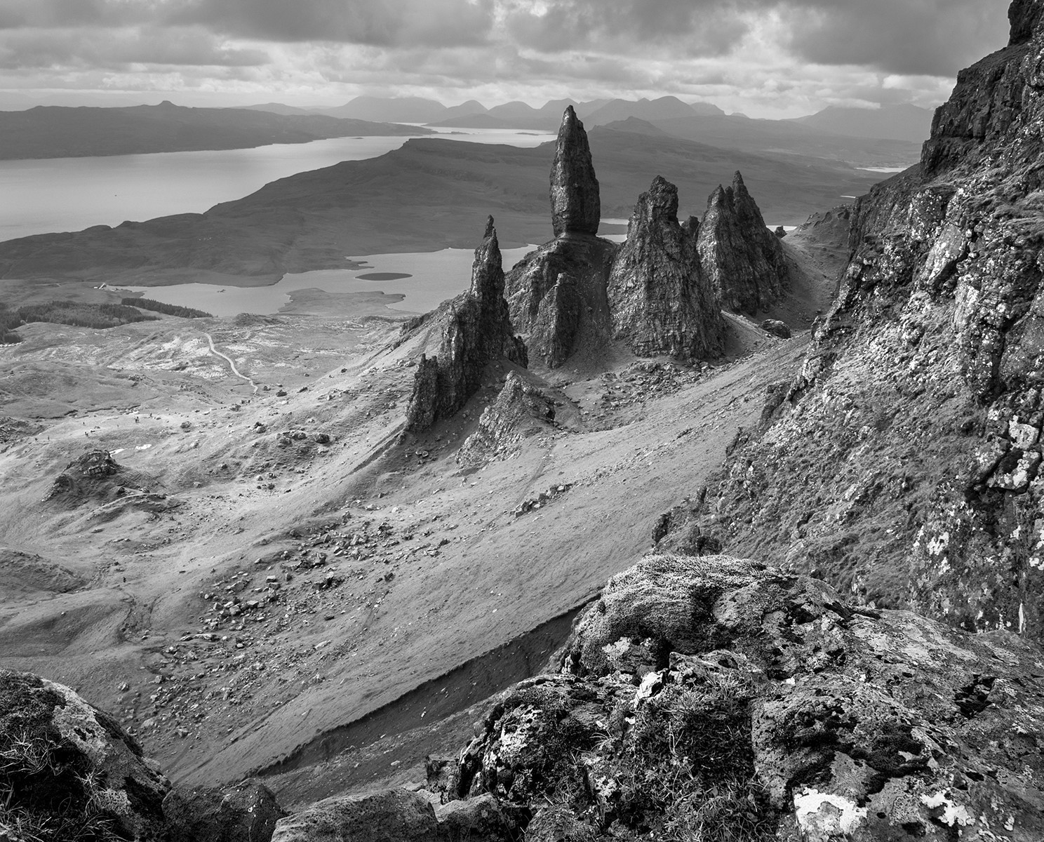 The Old Man of Storr   Skye Scotland