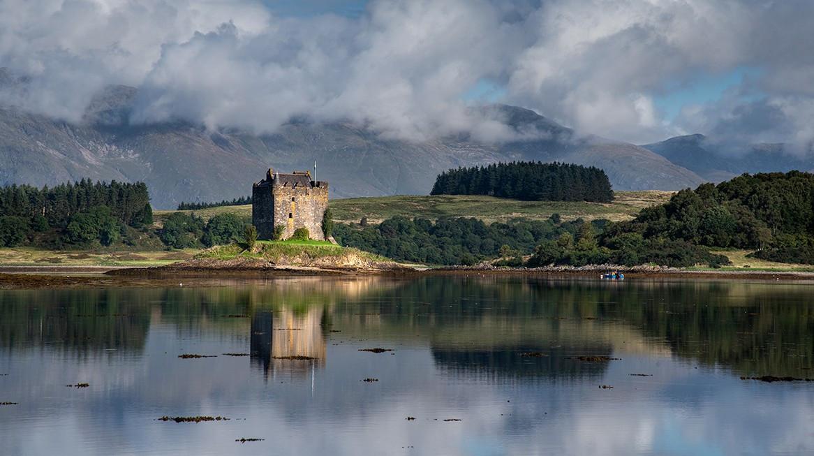 Castle Stalker  Scotland. 1