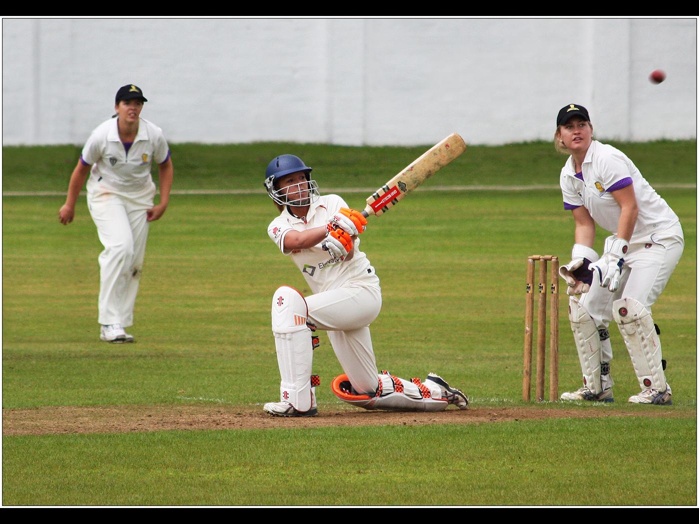 Ladies Cricket - A Big Hit