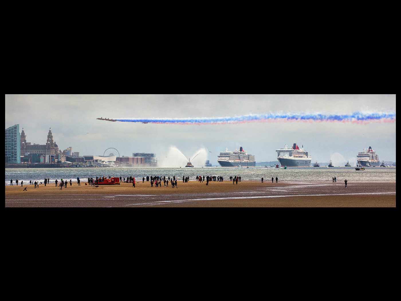 Liverpool receives Cunards Salute