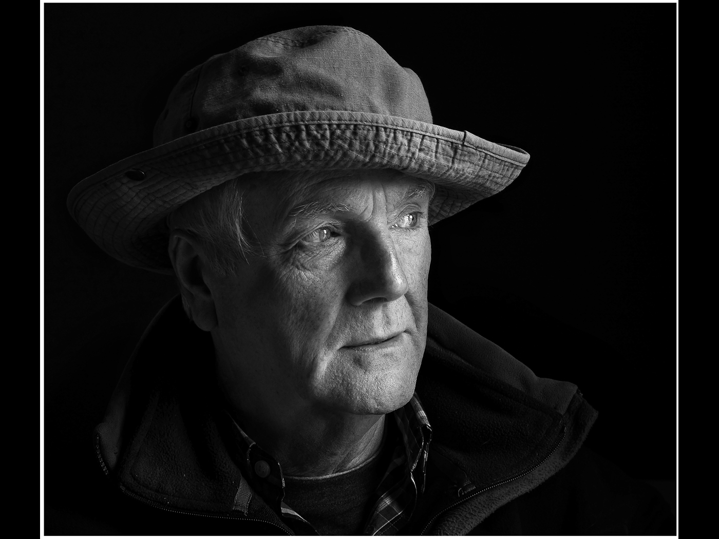 Portrait of Roy with Hat