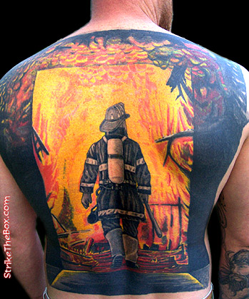 Firefighter Tattoos on Jennifer Lopez Tattoos Fashion  Firefighter Tattoos