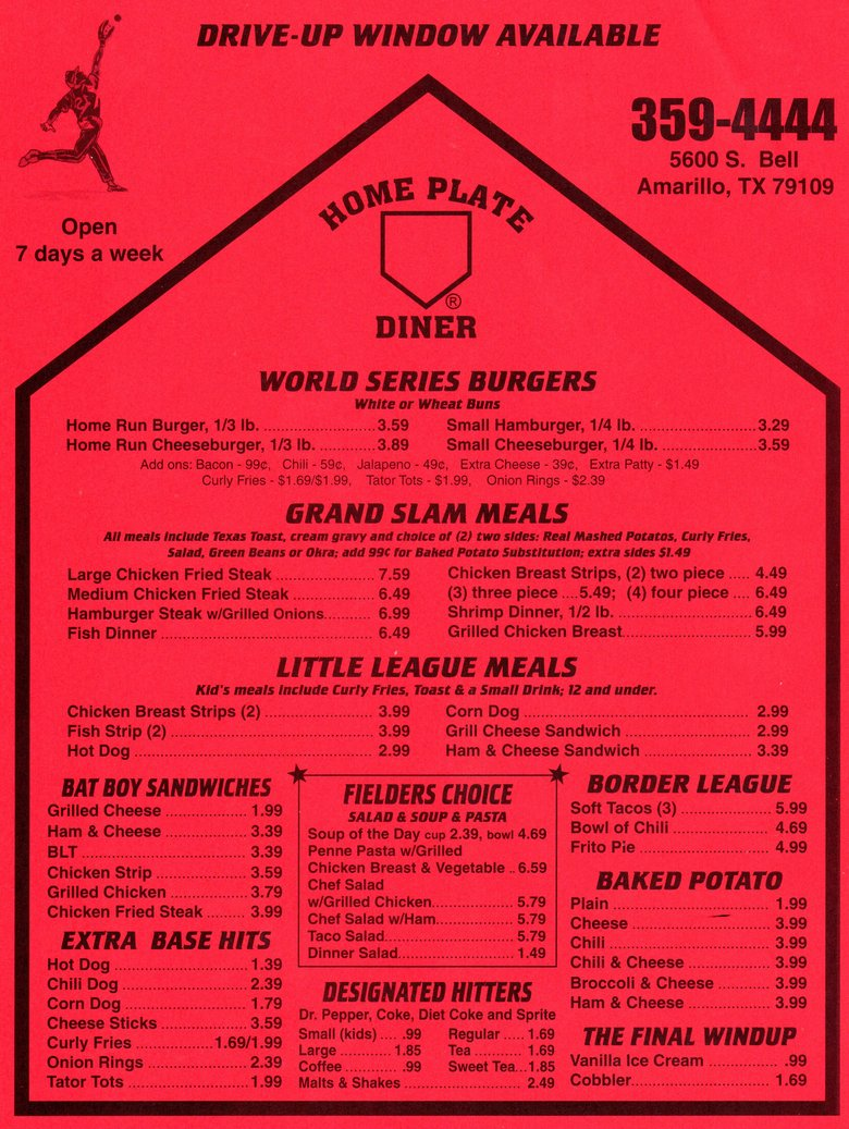 home plate diner memu rh amarillowebsites webstarts com home plate menu cobourg home plate menu cobourg