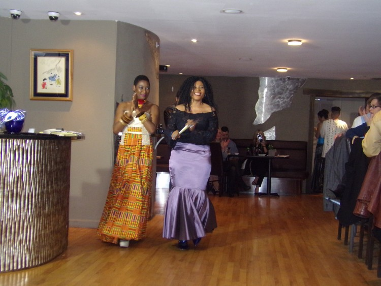 Yemi Sekoni and Catrina Nebo African Fashion