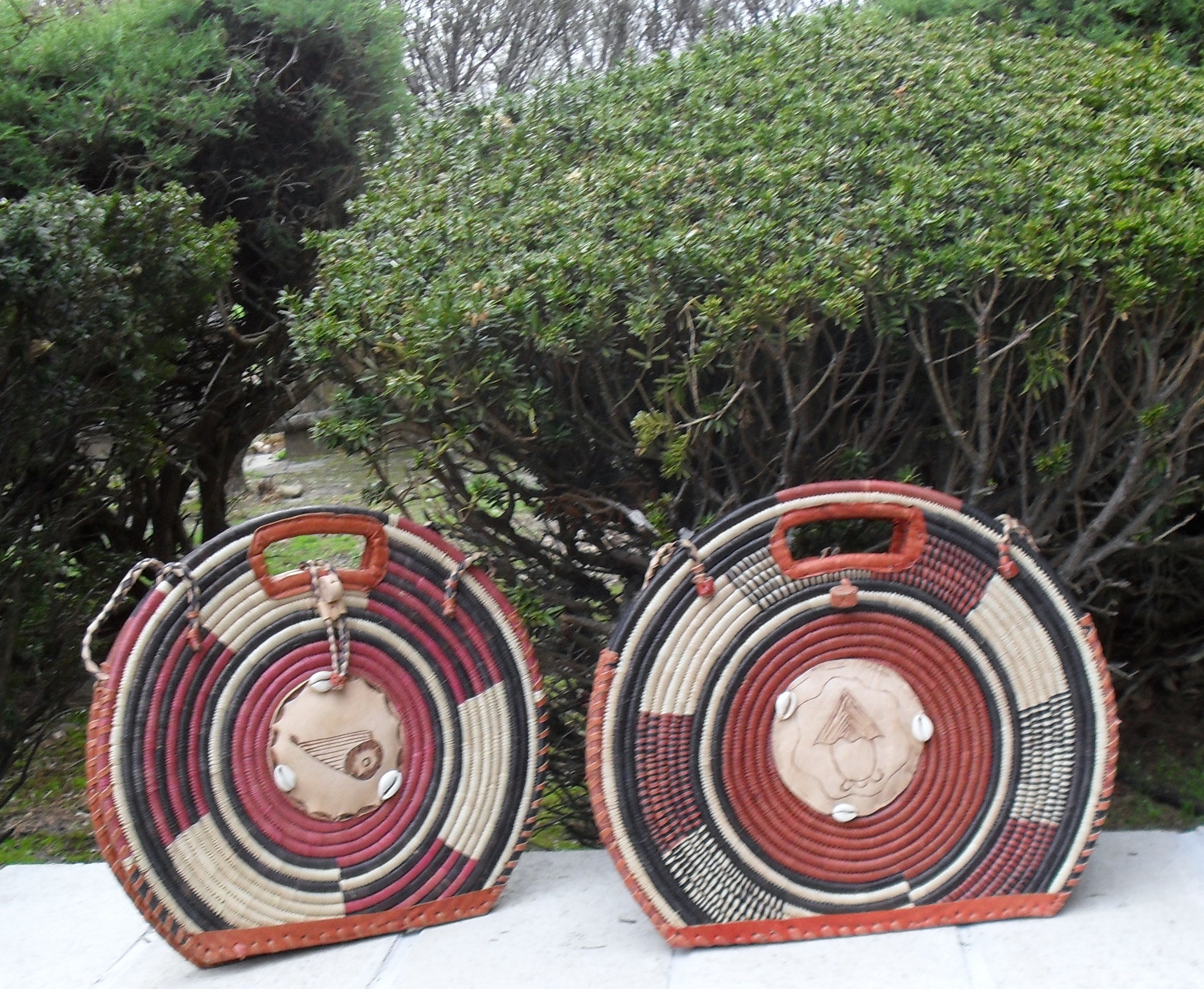 Beautiful Raffia Bag from Bukina Faso Catrina Village, Katrina Village