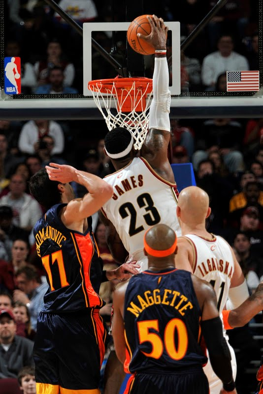 lebron james dunking heat. lebron james dunking on heat.