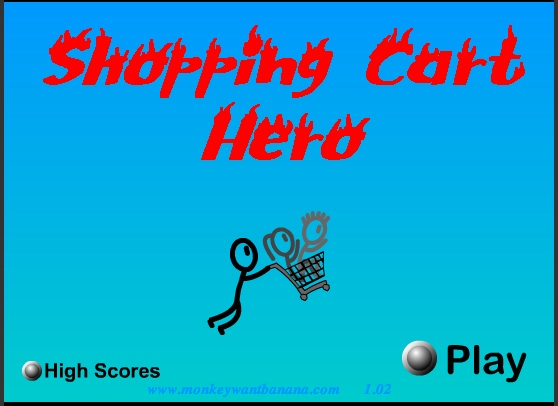 shopping cart hero 4 game