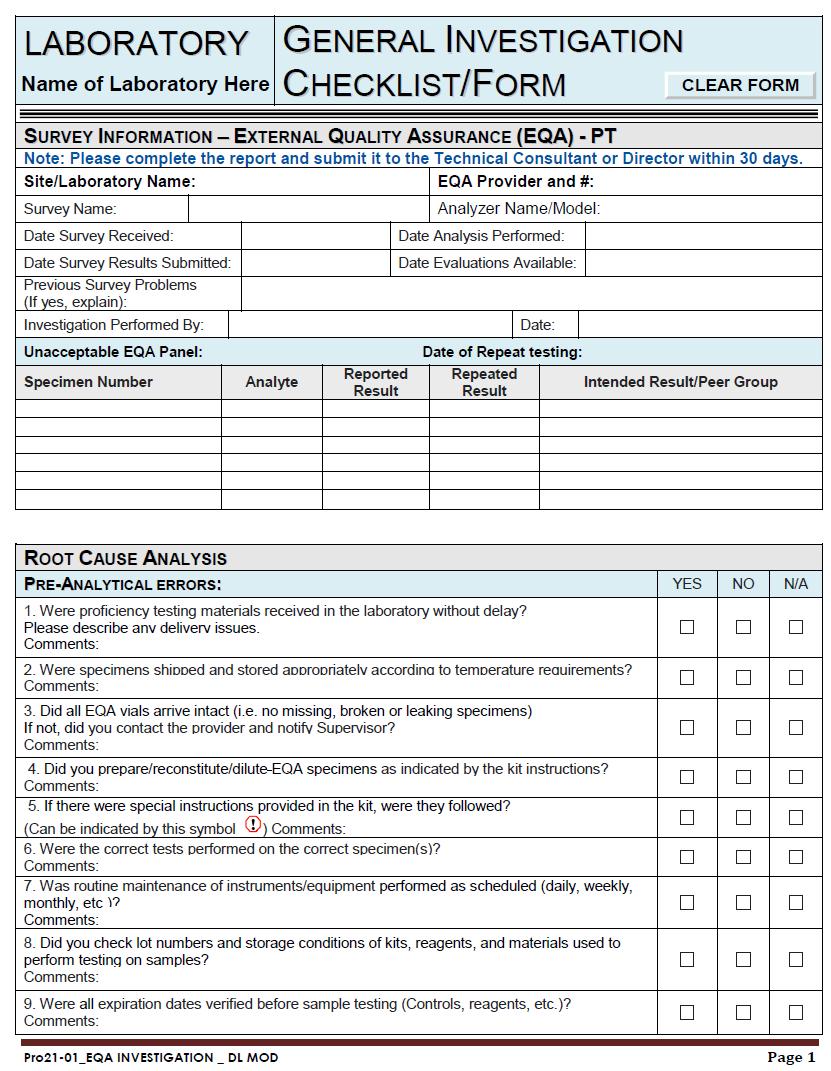 Conducting internal investigation checklist template bullivant.